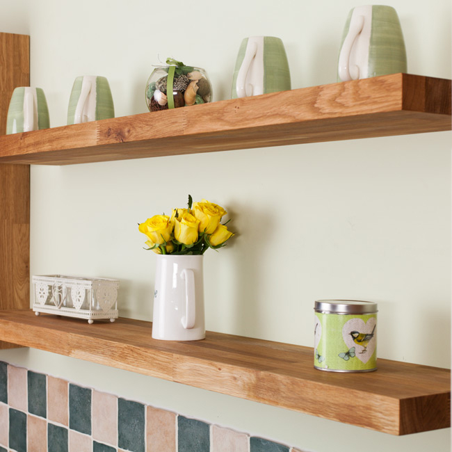 Kitchen Shelves Pictures: Solid Wood Kitchen Cabinets Blog