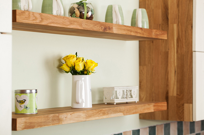 Beau Our Wooden Kitchen Shelves Are The Perfect Complement For Solid Oak Kitchens .