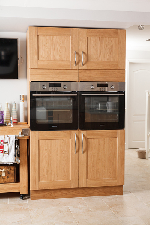 Solid wood kitchen cabinets image gallery for Individual kitchen units