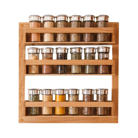 How To Install A Spice Rack In Solid Wood Kitchens