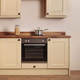 Solid Wood Oven Housing Cabinets