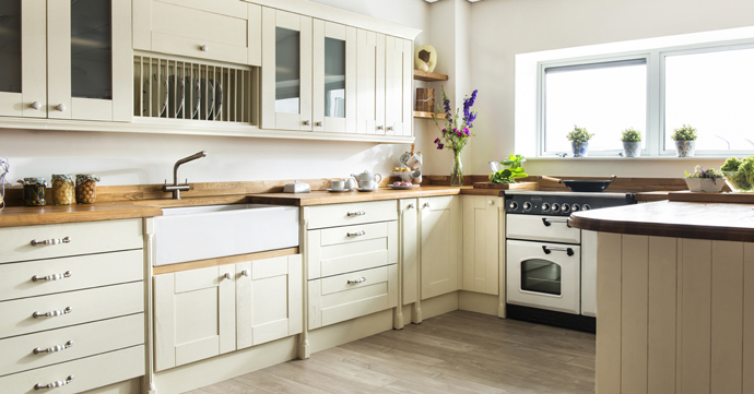 Chesterfield oak kitchens showroom