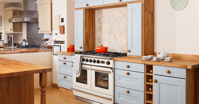 Warrington oak kitchens showroom