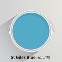 St Giles Blue is a bright and cheerful kitchen colour that is sure to put a spring in your step