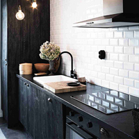 Subway tiles provide endless ideas for kitchens as they can be used to blend in or stand out.