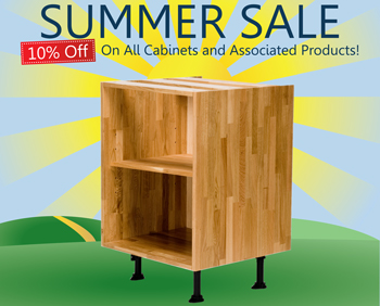 Summer Sale Now On! 10% off Solid Wood Kitchens & Accessories