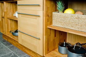 Sustainable European Oak Cabinets