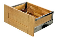 Tandembox Antaro Stainless Steel - Pan drawer plus guide rail