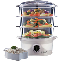 This three-tier tier food steamer, available from Russell Hobbs, is a great way to keep your diet on track.