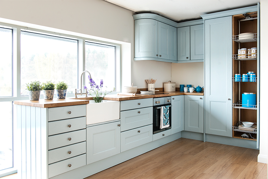 Parma Grey Kitchen Cabinets