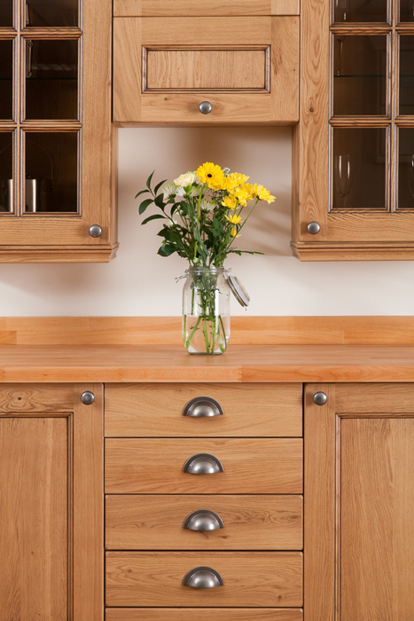 How to Create a Kitchen Dresser Using Our Solid Oak ...