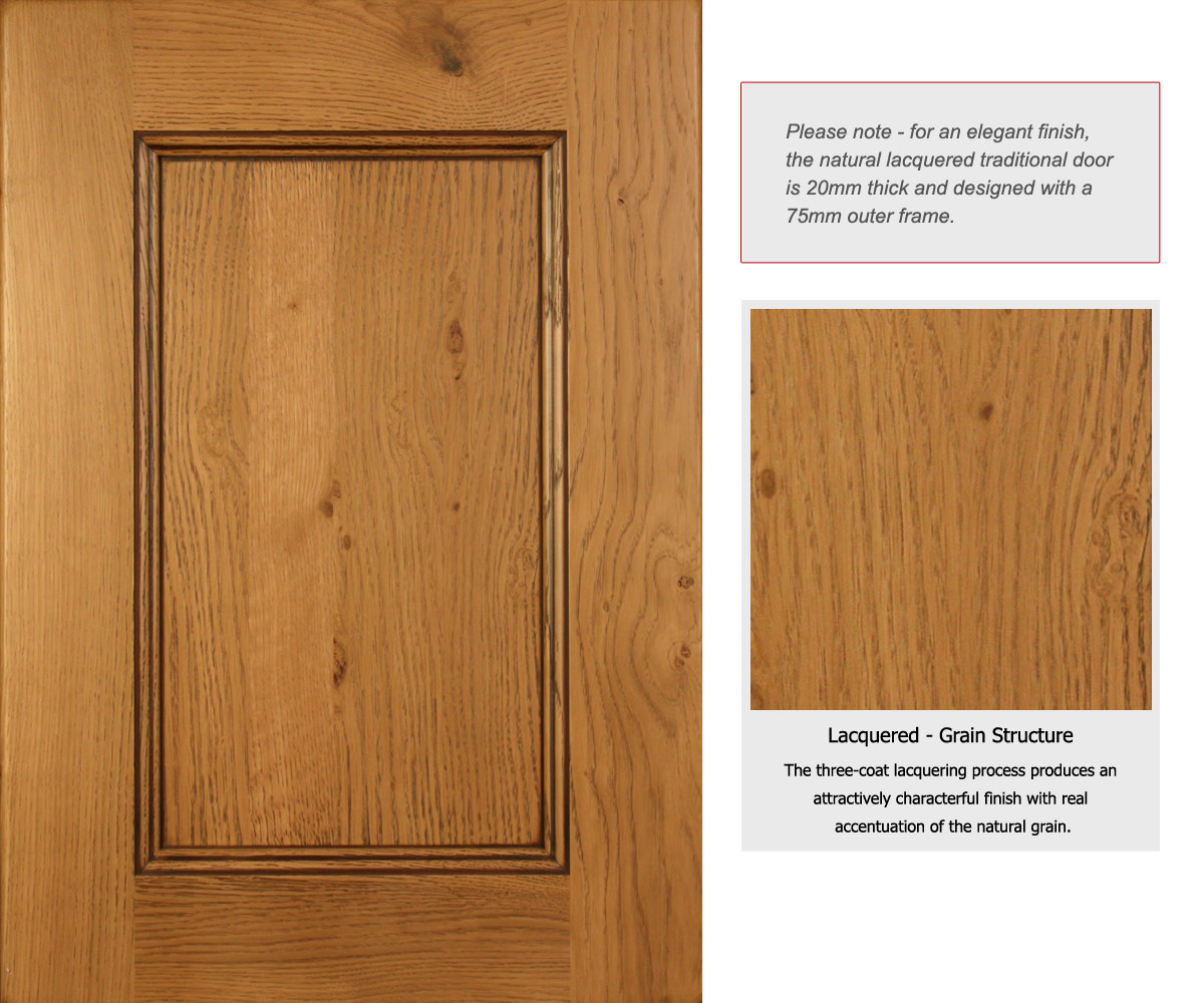 Solid Oak Wood Kitchen Unit Doors and Drawer Fronts - Solid Wood ...