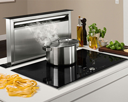 Ultra-modern downdraft extractor from Neff.