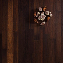 We recommend wenge worktops for high-contrast contemporary kitchens.
