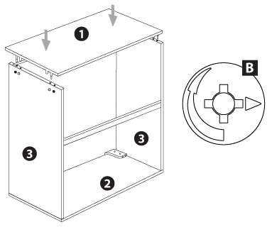 kitchen drawer assembly instructions