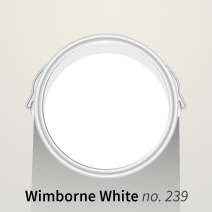 Farrow & Ball's Wimborne White takes its name from the beautiful town where the company's headquarters resides.