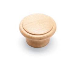 Solid Maple Knob