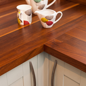 Largest Range of Kitchen Wooden Worktops