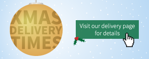 Christmas delivery times now available