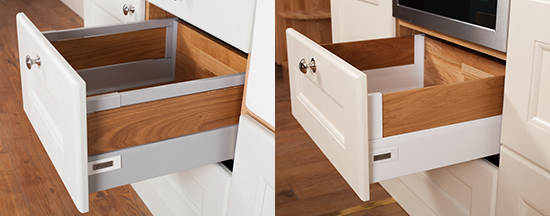 Replacement Solid Oak Kitchen Drawers