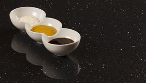 Black Sparkle Andromeda - Laminate Worktops