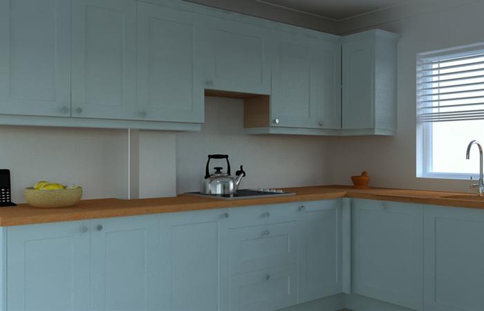 Solid Wood Kitchen Cabinets Camden