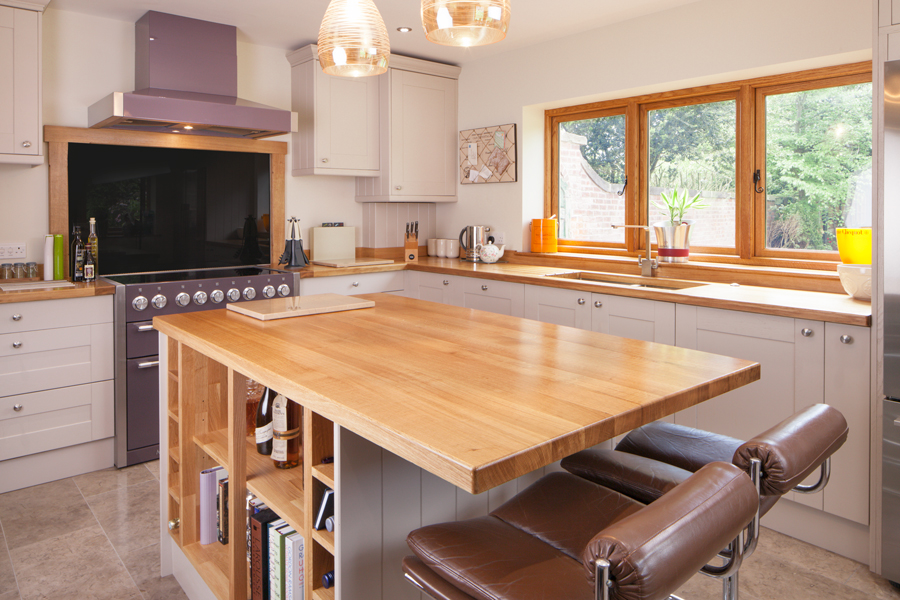 Bespoke Kitchens Solid Wood Kitchen Cabinets