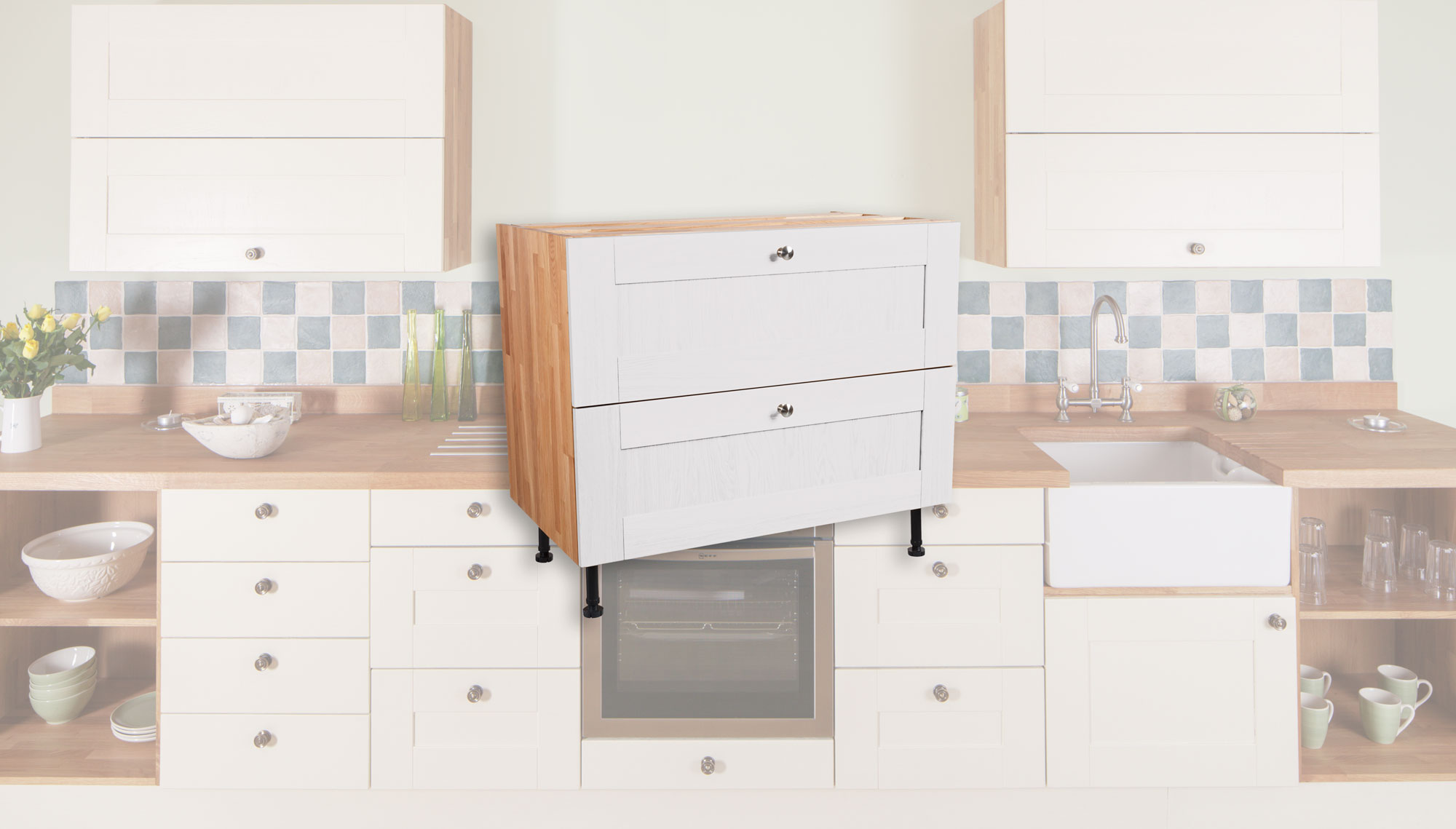 Cabinets Delivered Fully Assembled As Standard