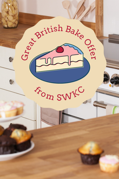 Enter our Great British Bake Offer for your chance to win a KitchenAid mixer.