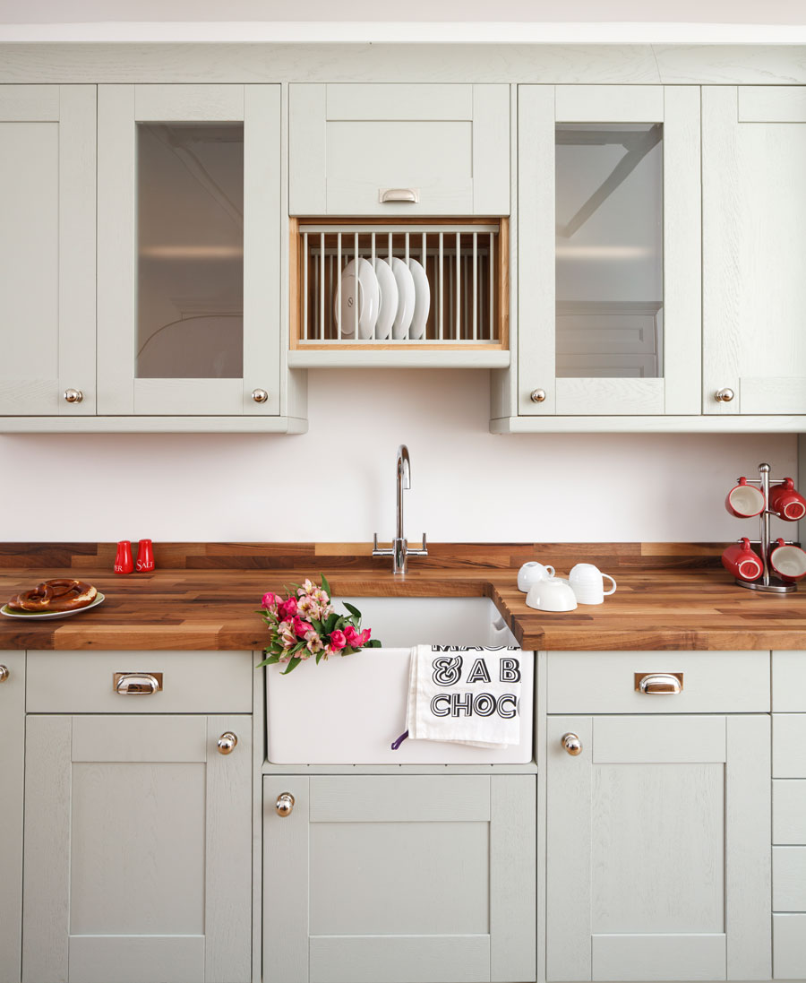 Oak Shaker Kitchen Cabinets: Solid Wood & Solid Oak Kitchen Cabinets From Solid Oak