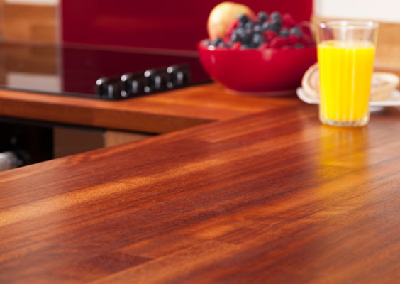 Crown your kitchen with our worktops - we have a selection of styles and sizes available