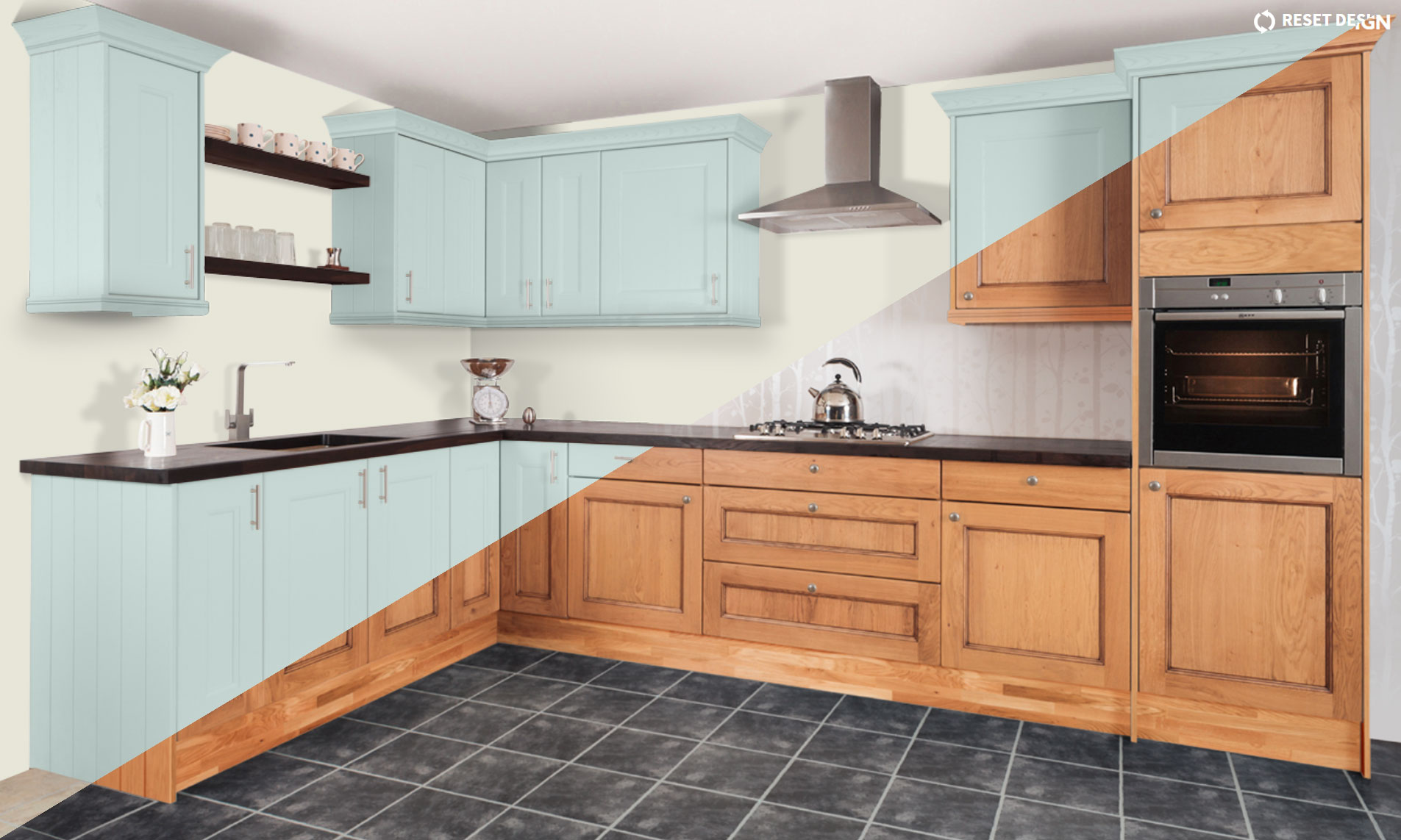 Discover your perfect design with our kitchen style tool