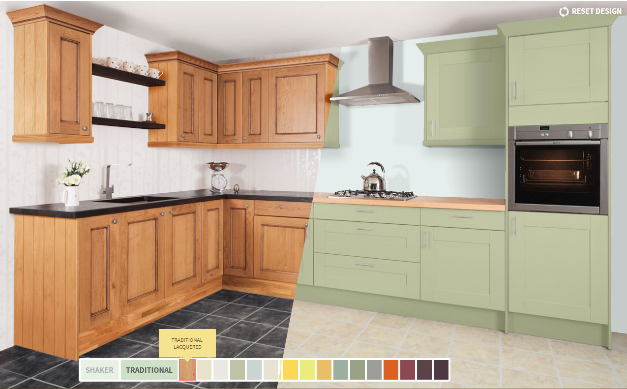 Design In Wood What To Do With Oak Cabinets: Solid Wood & Solid Oak Kitchen Cabinets From Solid Oak