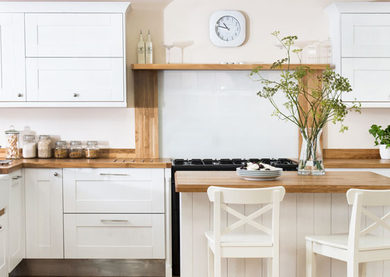 Shaker kitchens have a clean, classic style that looks good in a number of different designs