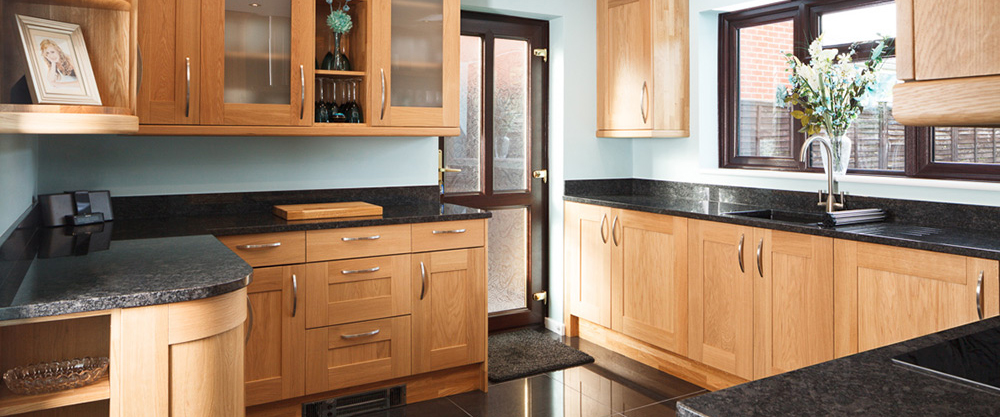 Real Oak Solid Wood Kitchen Units Cabinets Solid Wood Kitchen Cabinets