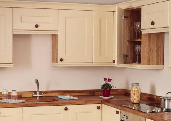 Design In Wood What To Do With Oak Cabinets: Real Oak Solid Wood Kitchen Units & Cabinets