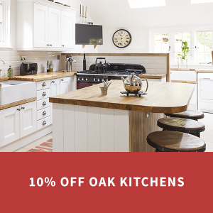 Save 10% on Oak Kitchens Until September 30th 2019