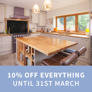 10% off everything ordered this March