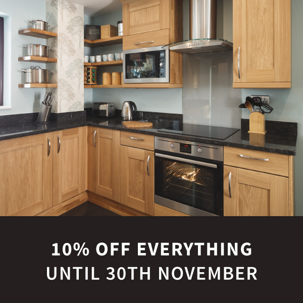 10% off everything ordered this November