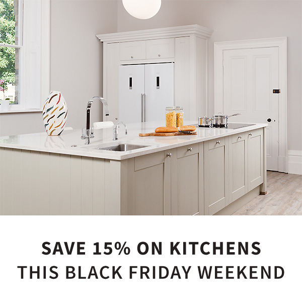 15% off kitchens this Black Friday weekend