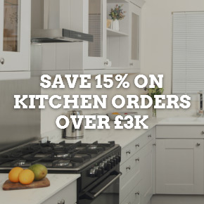 Get set for spring with 20% off worktops when you spend over £2,000.