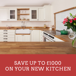 Save up to £1,000 on Your New Kitchen Until October 31st