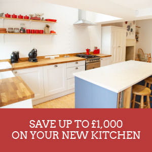 Save up to £1,000 on Your New Kitchen Until March 31st