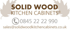 Solid Wood Kitchen Cabinets Logo