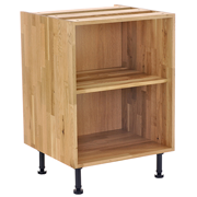 solid wood base cabinet